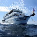 Similan szigetek búvárszafari hajó